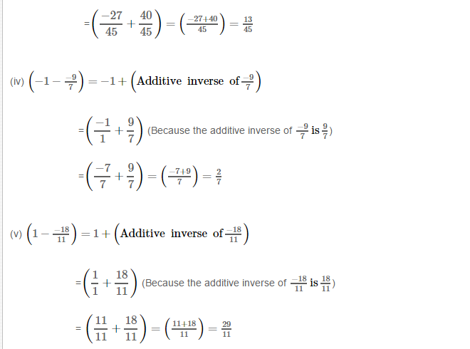 Rational Numbers RS Aggarwal Class 8 Solutions Ex 1C 7.2