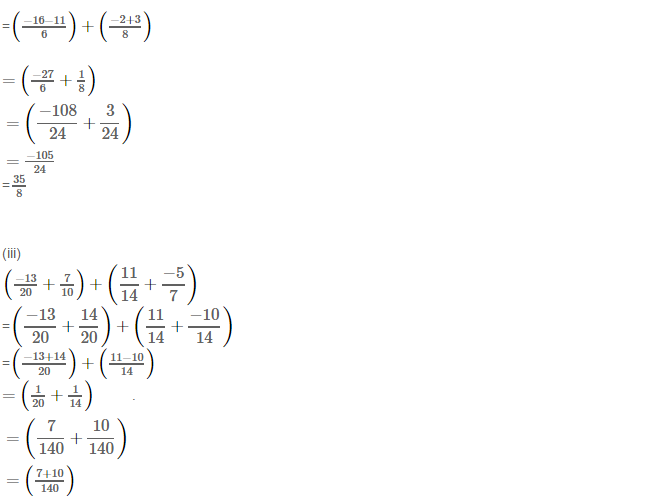 Rational Numbers RS Aggarwal Class 8 Solutions Ex 1C 8.2