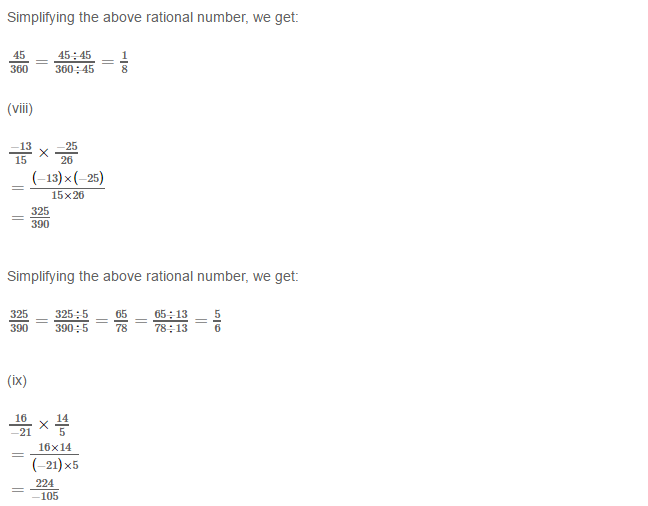 Rational Numbers RS Aggarwal Class 8 Solutions Ex 1D 1.4