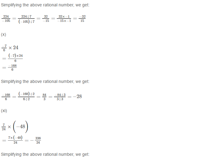 Rational Numbers RS Aggarwal Class 8 Solutions Ex 1D 1.5
