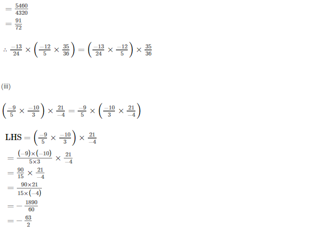 Rational Numbers RS Aggarwal Class 8 Solutions Ex 1D 3.3