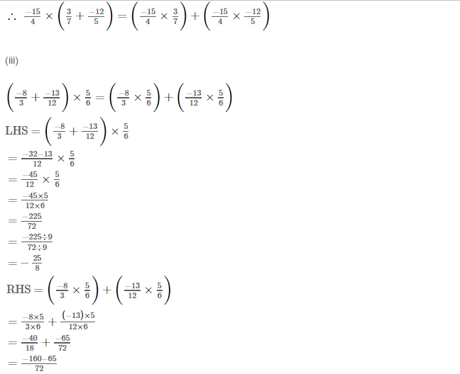 Rational Numbers RS Aggarwal Class 8 Solutions Ex 1D 7.3