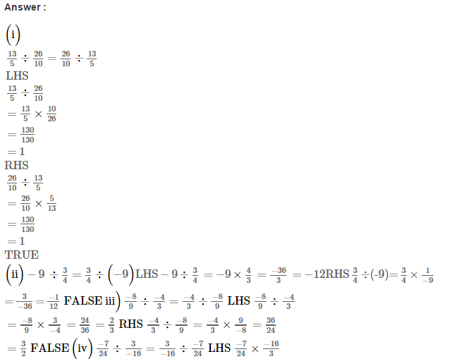 Rational Numbers RS Aggarwal Class 8 Solutions Ex 1E 2.1