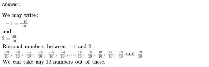 Rational Numbers RS Aggarwal Class 8 Solutions Ex 1F 8.1