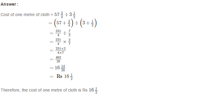 Rational Numbers RS Aggarwal Class 8 Solutions Ex 1G 11.1