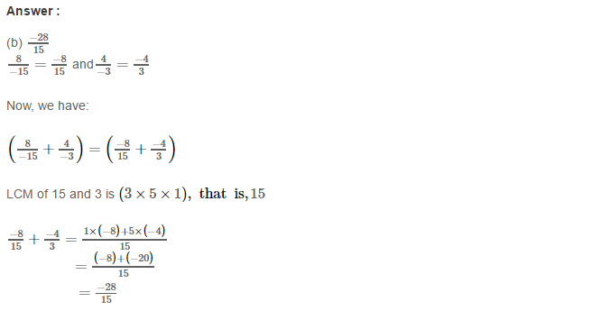 Rational Numbers RS Aggarwal Class 8 Solutions Ex 1H 2.1