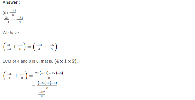 Rational Numbers RS Aggarwal Class 8 Solutions Ex 1H 5.1
