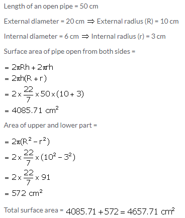 Selina Concise Mathematics Class 10 ICSE Solutions Cylinder, Cone and Sphere image - 10