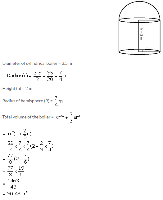 Selina Concise Mathematics Class 10 ICSE Solutions Cylinder, Cone and Sphere image - 101