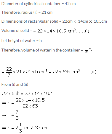 Selina Concise Mathematics Class 10 ICSE Solutions Cylinder, Cone and Sphere image - 107