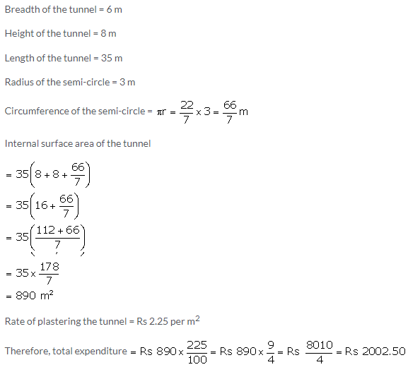 Selina Concise Mathematics Class 10 ICSE Solutions Cylinder, Cone and Sphere image - 110