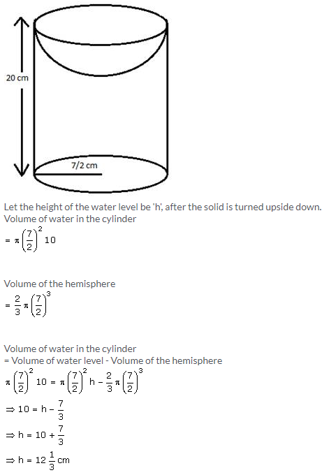 Selina Concise Mathematics Class 10 ICSE Solutions Cylinder, Cone and Sphere image - 120