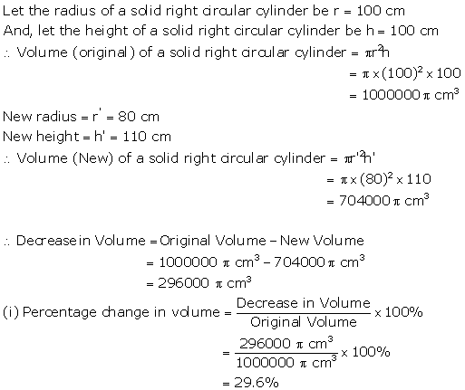 Selina Concise Mathematics Class 10 ICSE Solutions Cylinder, Cone and Sphere image - 13