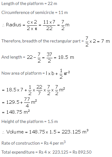 Selina Concise Mathematics Class 10 ICSE Solutions Cylinder, Cone and Sphere image - 130