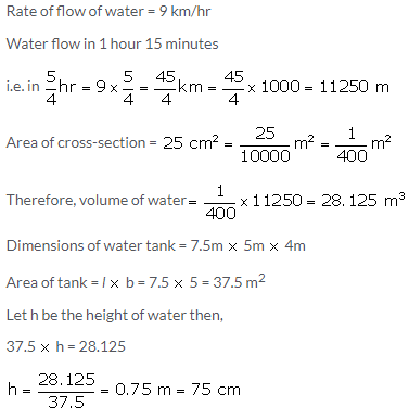 Selina Concise Mathematics Class 10 ICSE Solutions Cylinder, Cone and Sphere image - 135