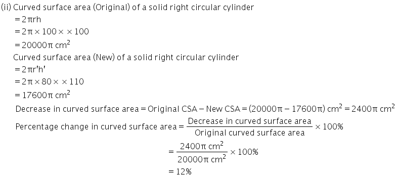 Selina Concise Mathematics Class 10 ICSE Solutions Cylinder, Cone and Sphere image - 14