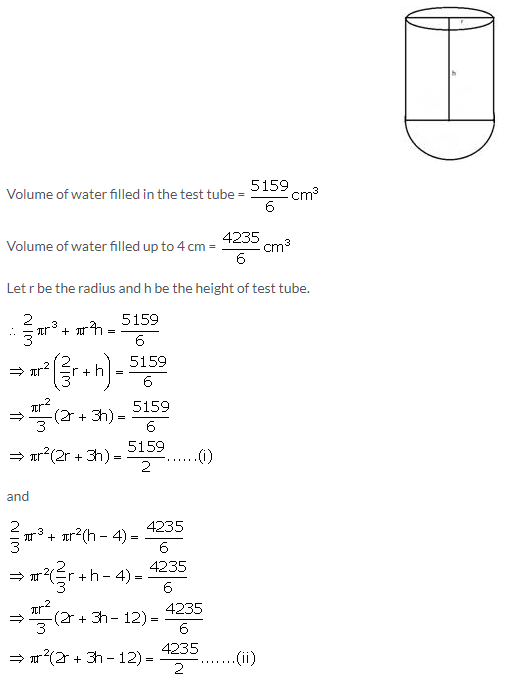 Selina Concise Mathematics Class 10 ICSE Solutions Cylinder, Cone and Sphere image - 146