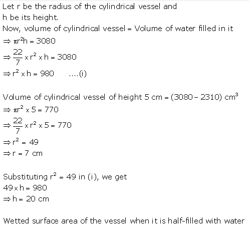 Selina Concise Mathematics Class 10 ICSE Solutions Cylinder, Cone and Sphere image - 16