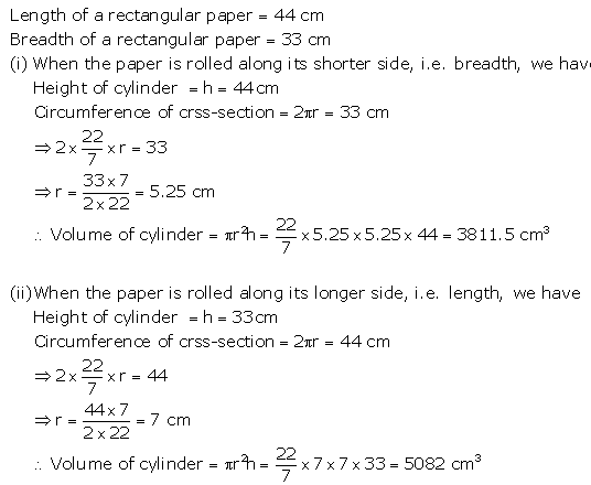 Selina Concise Mathematics Class 10 ICSE Solutions Cylinder, Cone and Sphere image - 18
