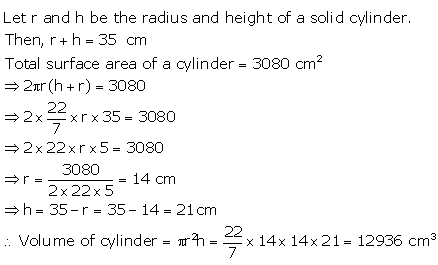 Selina Concise Mathematics Class 10 ICSE Solutions Cylinder, Cone and Sphere image - 24