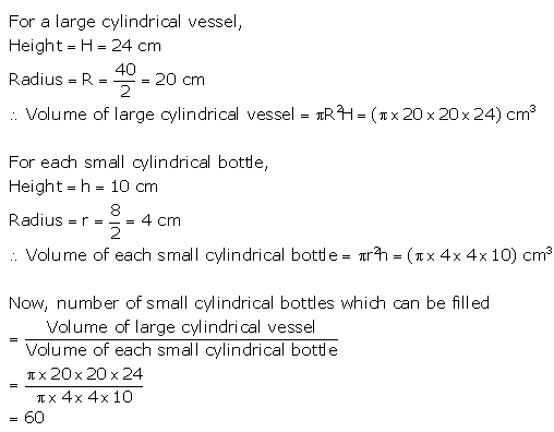Selina Concise Mathematics Class 10 ICSE Solutions Cylinder, Cone and Sphere image - 26