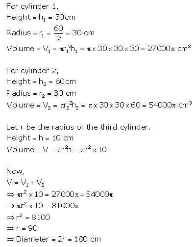 Selina Concise Mathematics Class 10 ICSE Solutions Cylinder, Cone and Sphere image - 28