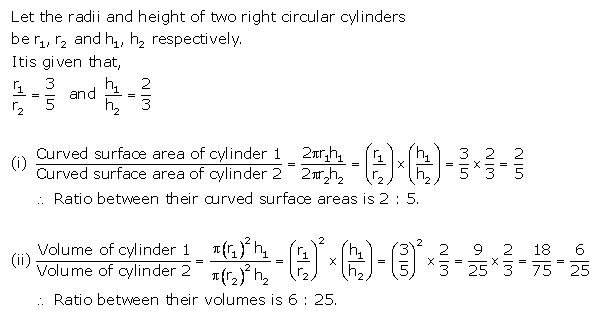 Selina Concise Mathematics Class 10 ICSE Solutions Cylinder, Cone and Sphere image - 33