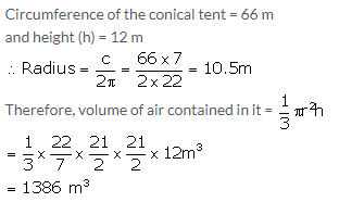 Selina Concise Mathematics Class 10 ICSE Solutions Cylinder, Cone and Sphere image - 37