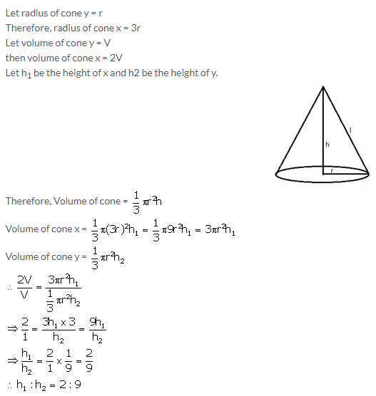 Selina Concise Mathematics Class 10 ICSE Solutions Cylinder, Cone and Sphere image - 39
