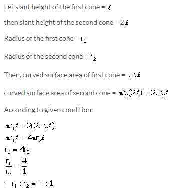 Selina Concise Mathematics Class 10 ICSE Solutions Cylinder, Cone and Sphere image - 41