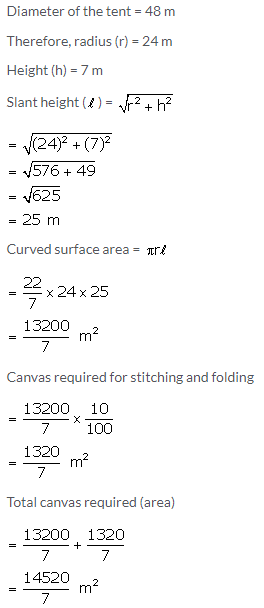 Selina Concise Mathematics Class 10 ICSE Solutions Cylinder, Cone and Sphere image - 43