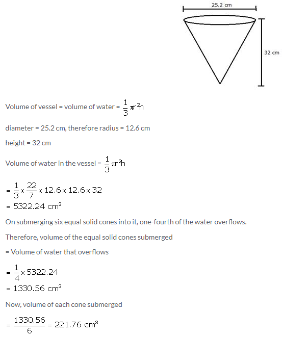 Selina Concise Mathematics Class 10 ICSE Solutions Cylinder, Cone and Sphere image - 50