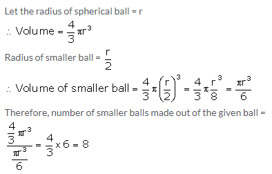 Selina Concise Mathematics Class 10 ICSE Solutions Cylinder, Cone and Sphere image - 57