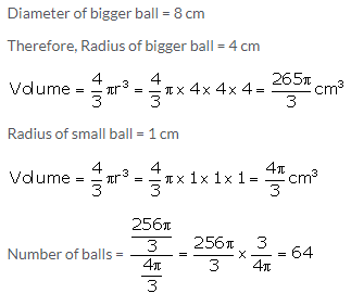 Selina Concise Mathematics Class 10 ICSE Solutions Cylinder, Cone and Sphere image - 58
