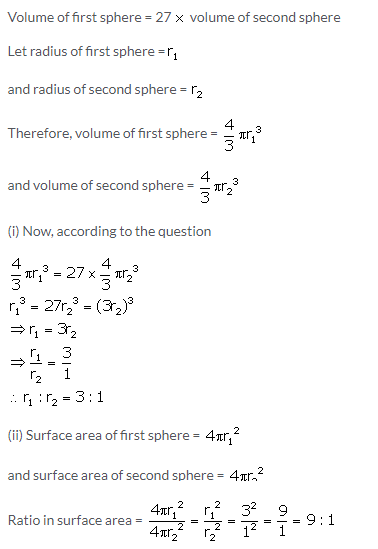Selina Concise Mathematics Class 10 ICSE Solutions Cylinder, Cone and Sphere image - 59