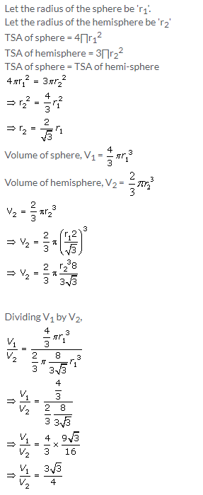 Selina Concise Mathematics Class 10 ICSE Solutions Cylinder, Cone and Sphere image - 64