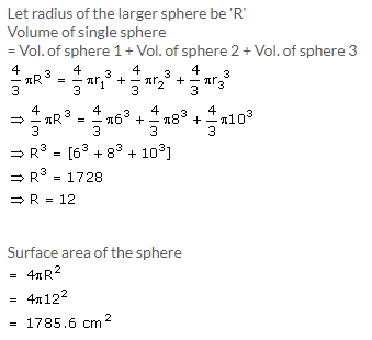 Selina Concise Mathematics Class 10 ICSE Solutions Cylinder, Cone and Sphere image - 65