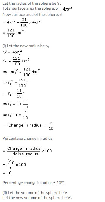 Selina Concise Mathematics Class 10 ICSE Solutions Cylinder, Cone and Sphere image - 66