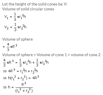 Selina Concise Mathematics Class 10 ICSE Solutions Cylinder, Cone and Sphere image - 90