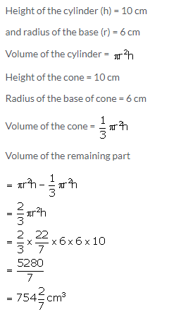 Selina Concise Mathematics Class 10 ICSE Solutions Cylinder, Cone and Sphere image - 93