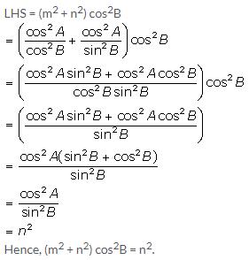 Selina Concise Mathematics Class 10 ICSE Solutions Trigonometrical Identities image - 113