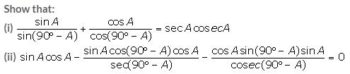 Selina Concise Mathematics Class 10 ICSE Solutions Trigonometrical Identities image - 118