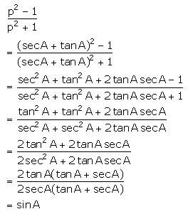 Selina Concise Mathematics Class 10 ICSE Solutions Trigonometrical Identities image - 165