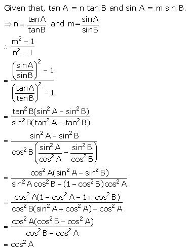Selina Concise Mathematics Class 10 ICSE Solutions Trigonometrical Identities image - 167
