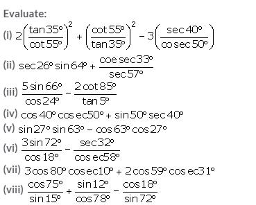 Selina Concise Mathematics Class 10 ICSE Solutions Trigonometrical Identities image - 170