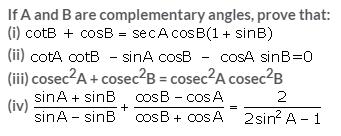 Selina Concise Mathematics Class 10 ICSE Solutions Trigonometrical Identities image - 175
