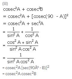Selina Concise Mathematics Class 10 ICSE Solutions Trigonometrical Identities image - 177