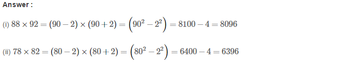 Squares and Square Roots RS Aggarwal Class 8 Maths Solutions Exercise 3B 11.1