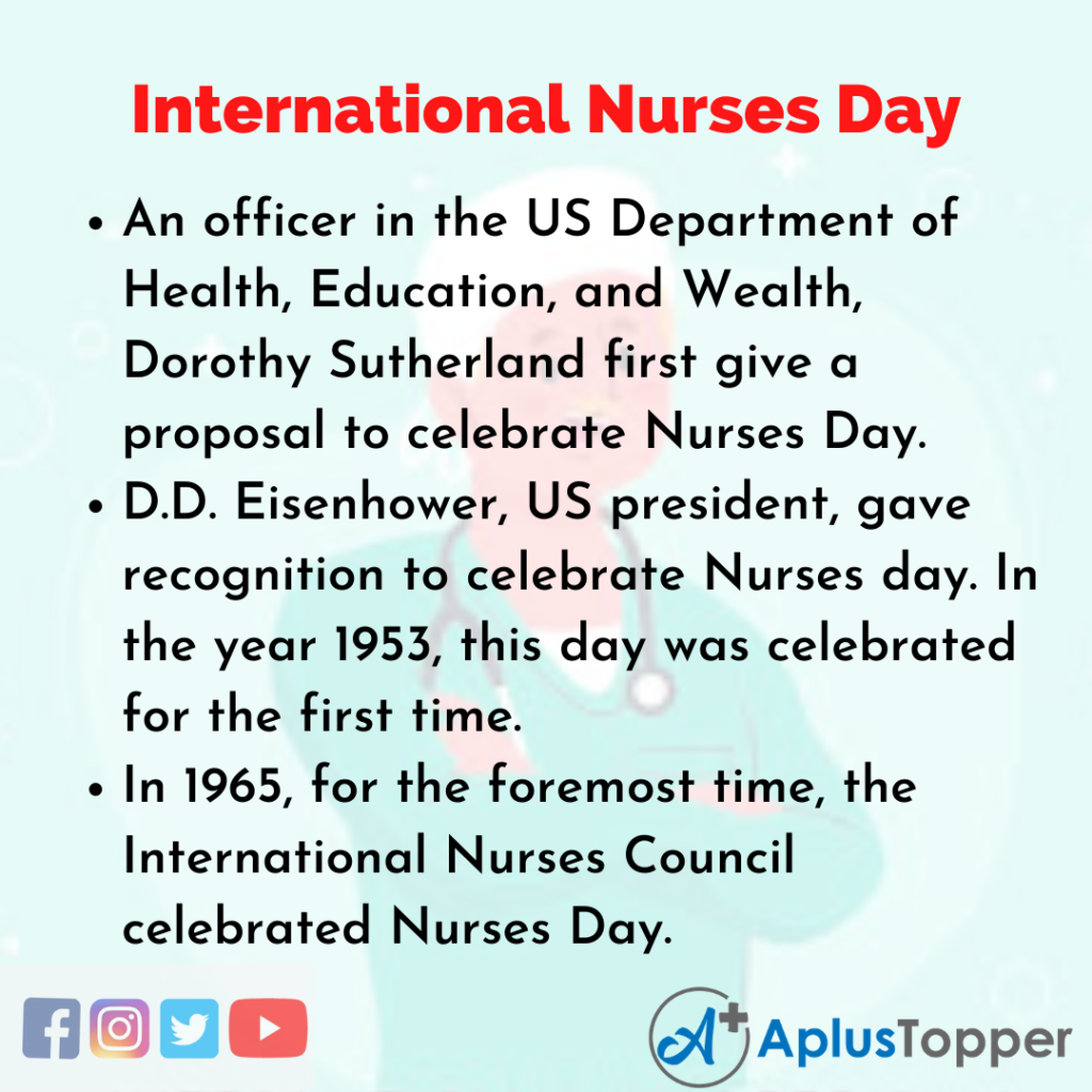 10 Lines about International Nurses Day