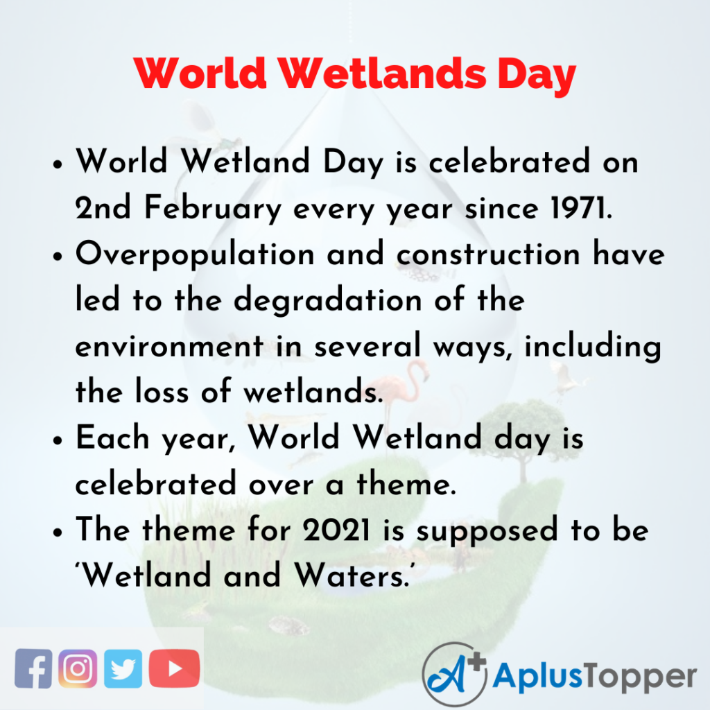 10 Lines about World Wetlands Day